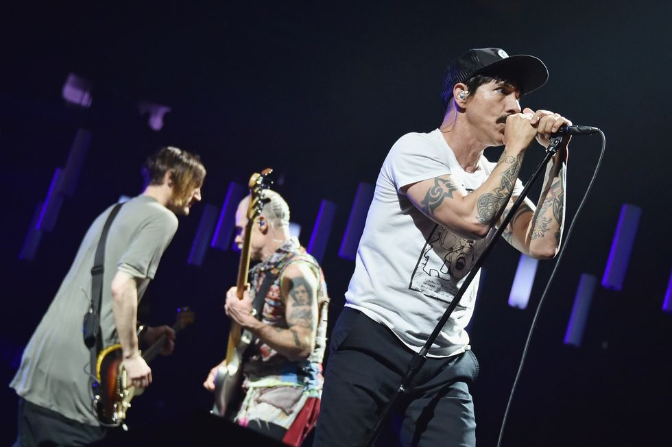 I Red Hot Chili Peppers live nel Getaway Tour