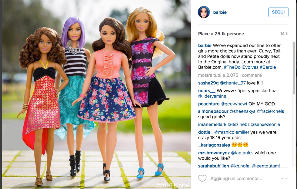 Le nuove Barbie