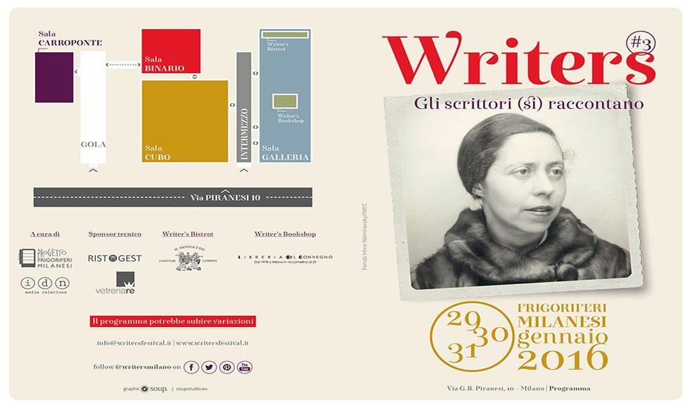 Il programma di Writers#3