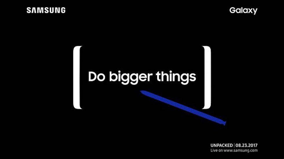 Galaxy Note8: il 23 agosto lancio e anteprima