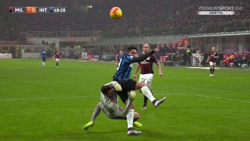 Errori arbitrali, 22a giornata: Damato flop nel derby (ma non penalizza l'Inter)