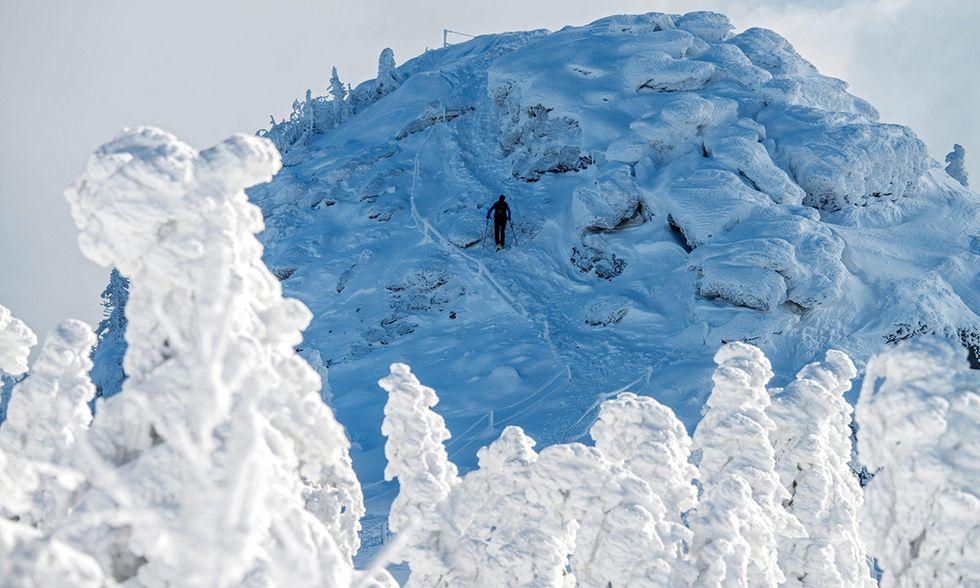 La neve sul Großer Arber