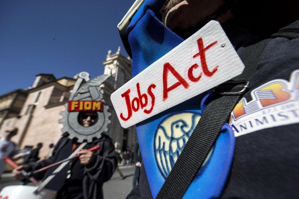 Disoccupazione all'11,4%. Un anno di Jobs Act