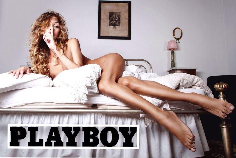 Vittoria Schisano per Playboy