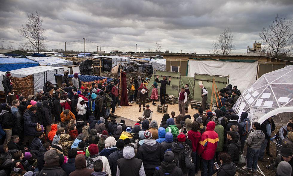 L'Amleto del Globe Theatre a Calais