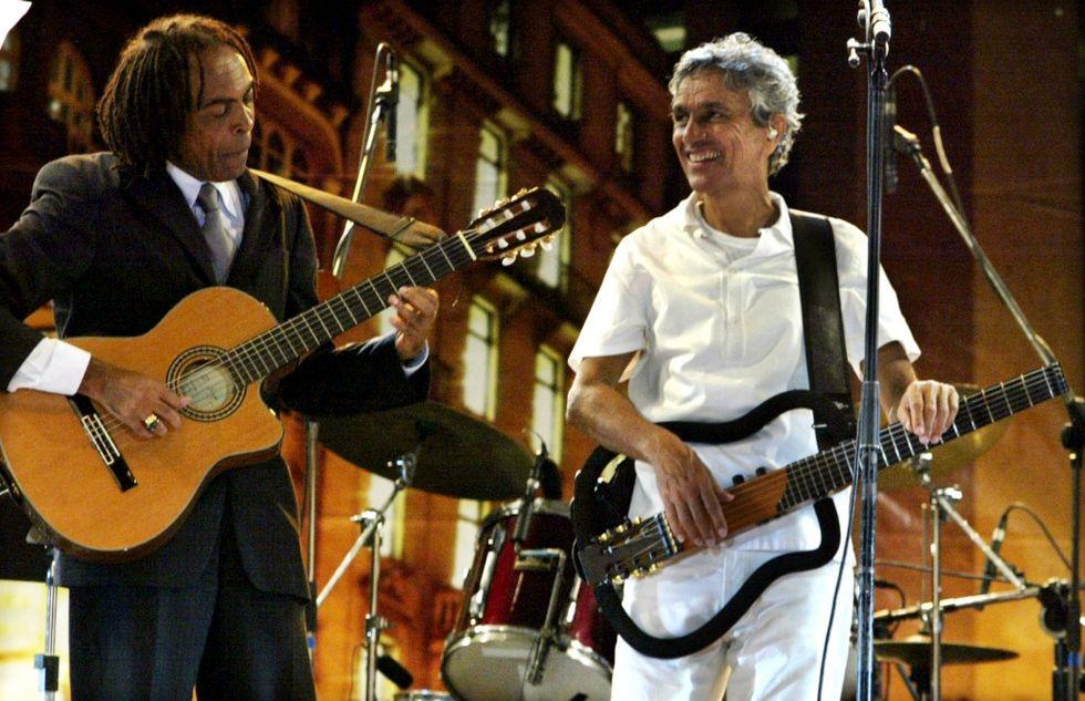 Caetano Veloso e Gilberto Gil in concerto a Roma il 6 maggio