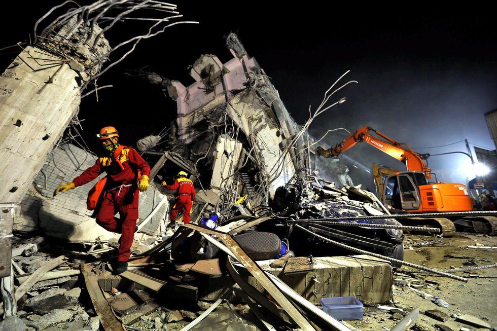 Terremoto a Taiwan: 37 morti e oltre 600 tra feriti e dispersi