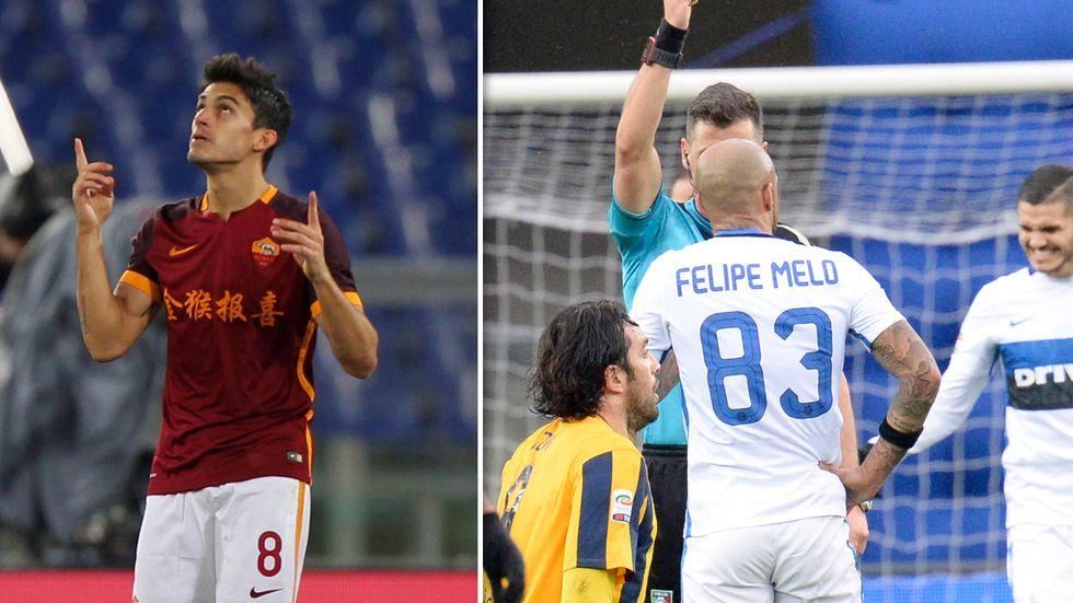 24a giornata, top e flop: Perotti conquista Roma, disastro Felipe Melo
