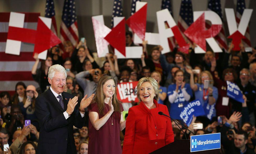 Primarie USA Democratici, Hillary Clinton