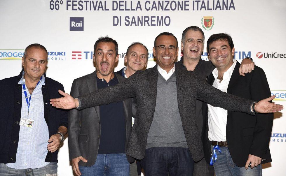Sanremo 2016 Carlo Conti Nicola Savino