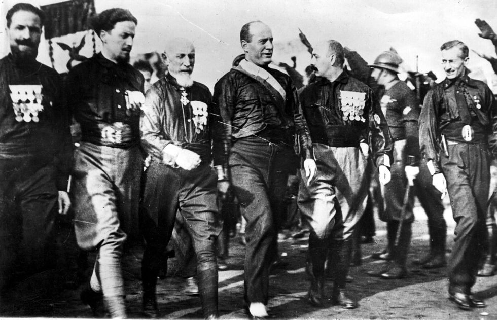 25 luglio Marcia su Roma fascismo Mussolini