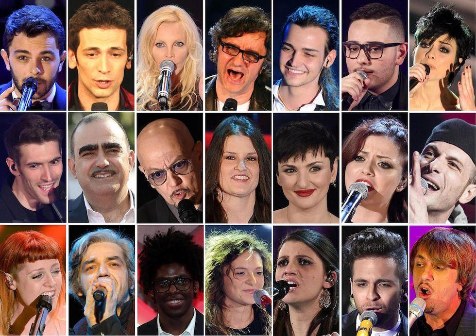 Sanremo 2016: boom sui social, Garko e Pausini i più menzionati