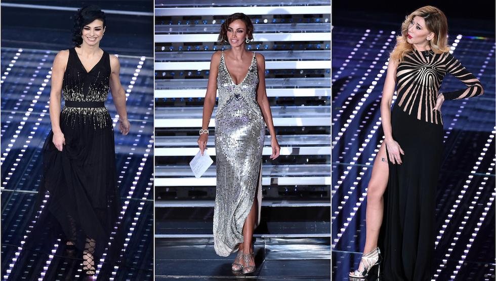 Sanremo 2016: le pagelle ai look della quarta serata
