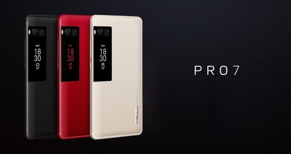 Meizu Pro 7: ecco a cosa servono due display