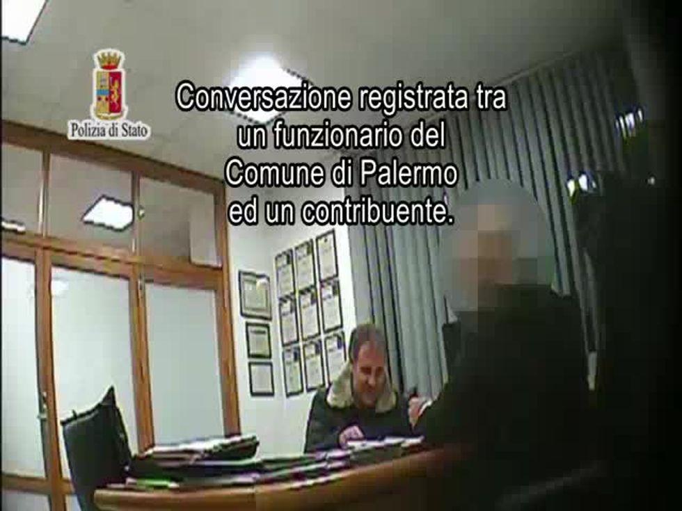 Operazione anticorruzione a Palermo