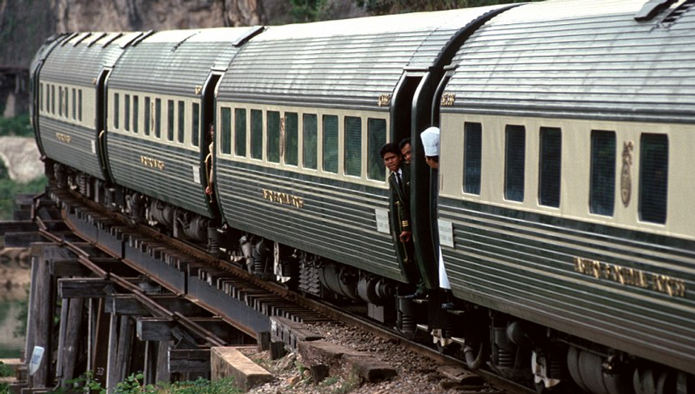 I viaggi in treno più lussuosi al mondo