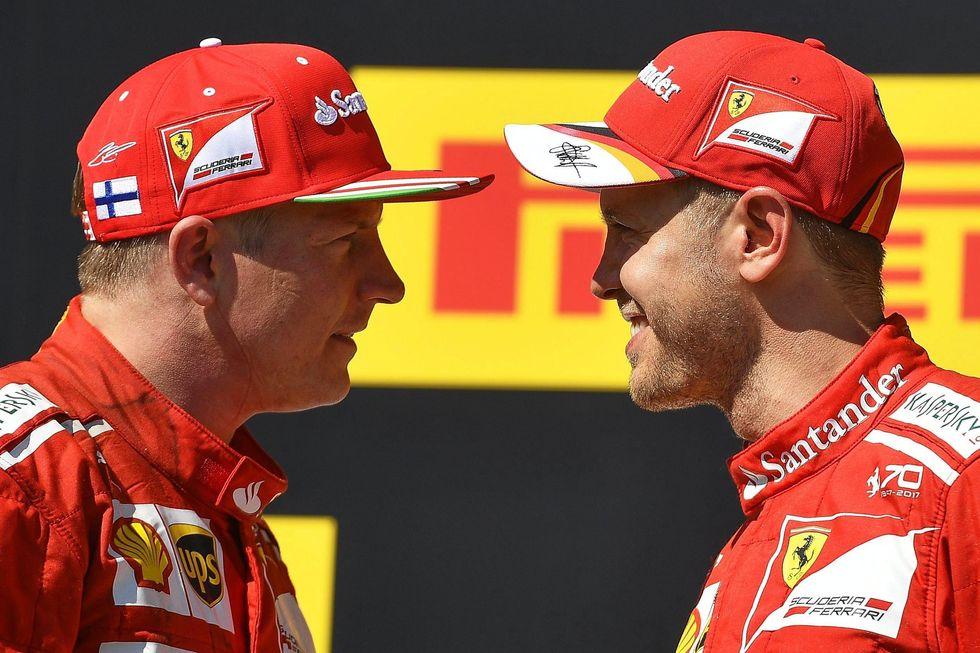 Formula 1: Ferrari, storica doppieta al GP di Ungheria - FOTO