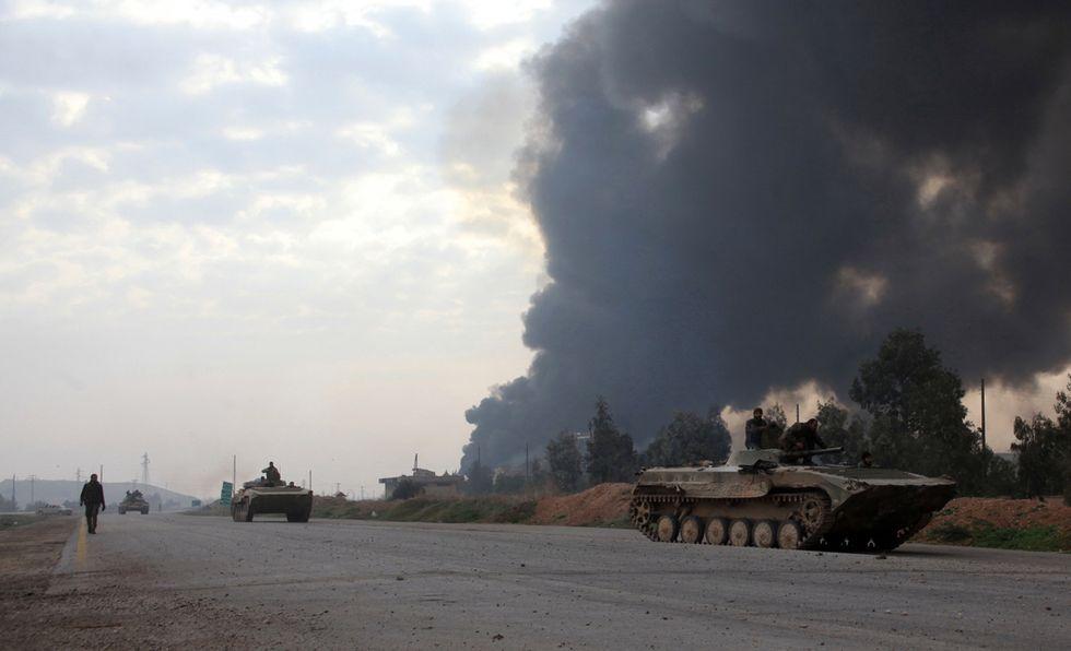 siria conflitto