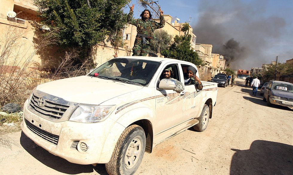 Guerra in Libia, Bengasi