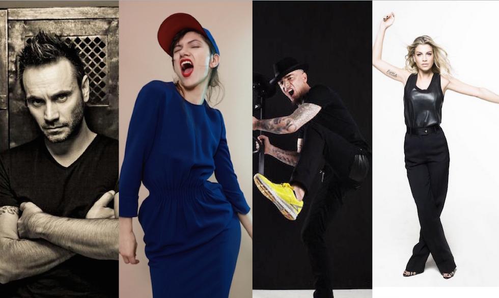 I nuovi Direttori Artistici di Amici 2016: Nek, Elisa, J-Ax ed Emma