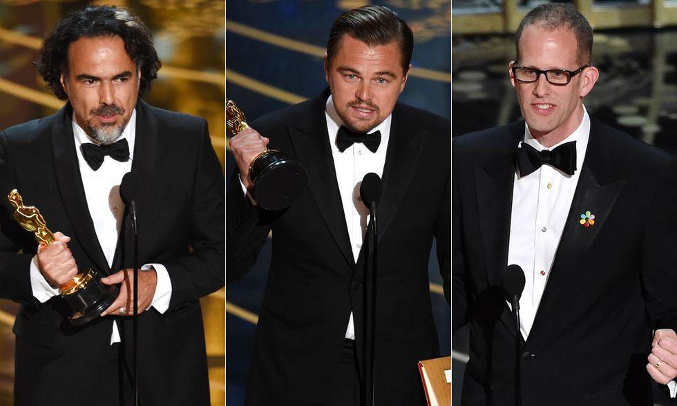 Alejandro González Iñárritu, Leonardo DiCaprio, Pete Docter