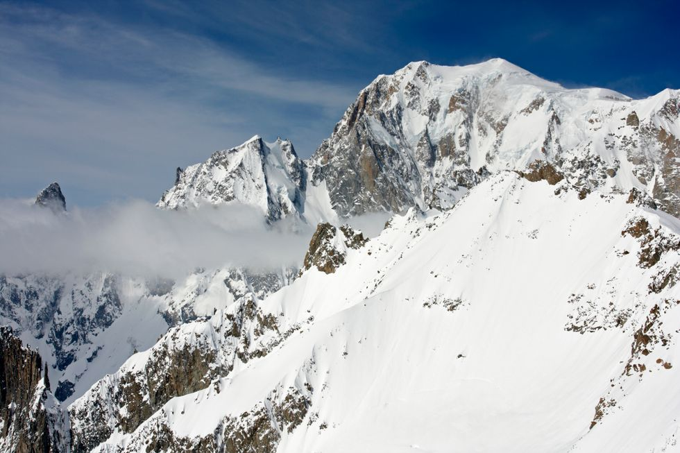 Il monte bianco non è in Italia, Olivier Marchon