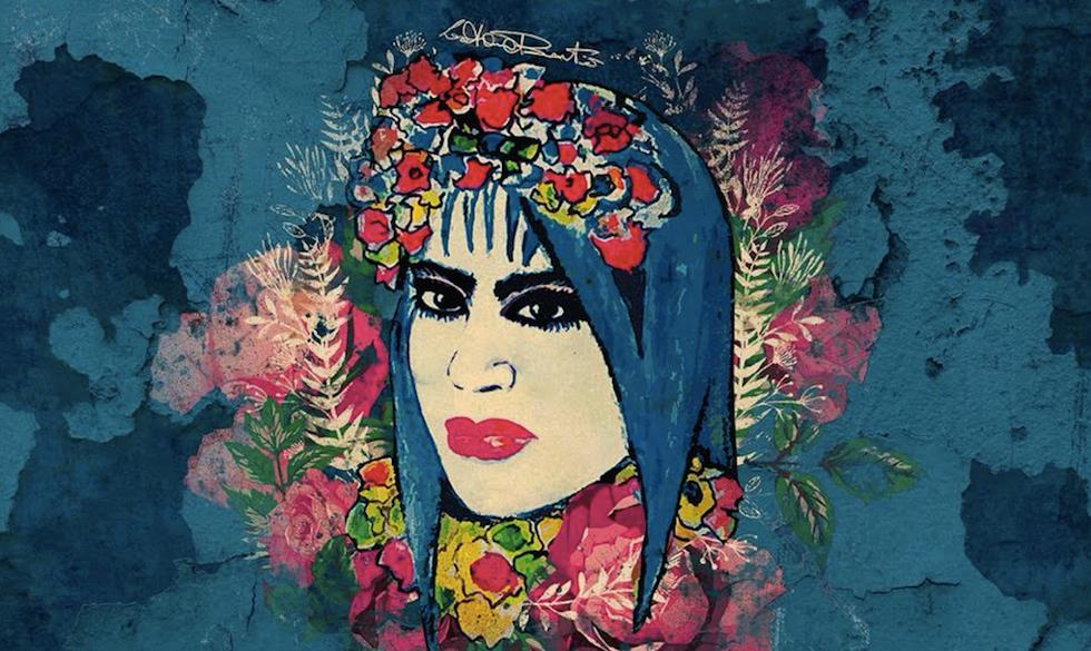 Un particolare della cover del nuovo disco di Loredana Bertè