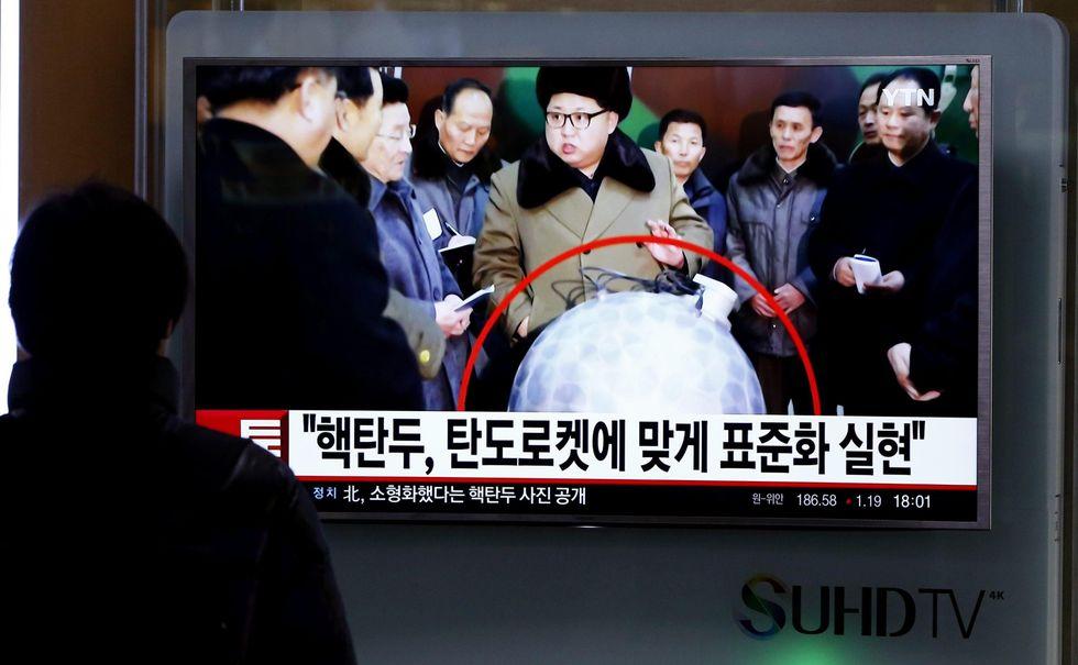 Corea del Nord, pronte testate nucleari miniaturizzate