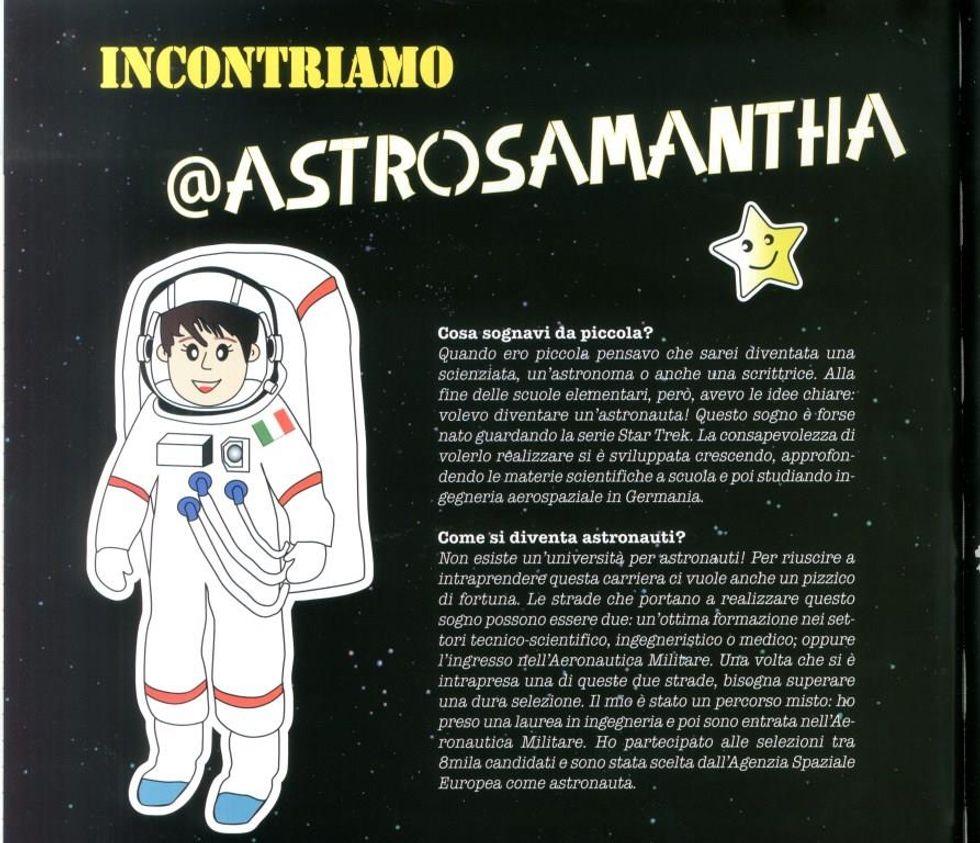 Piccoli astronauti si diventa
