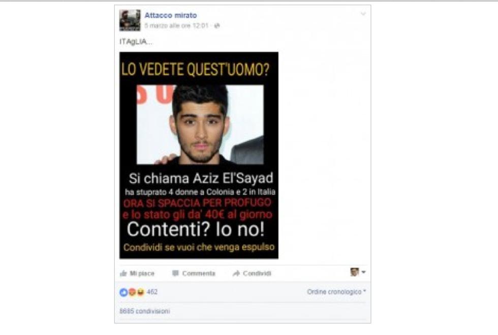 Profugo? No, ex One Direction