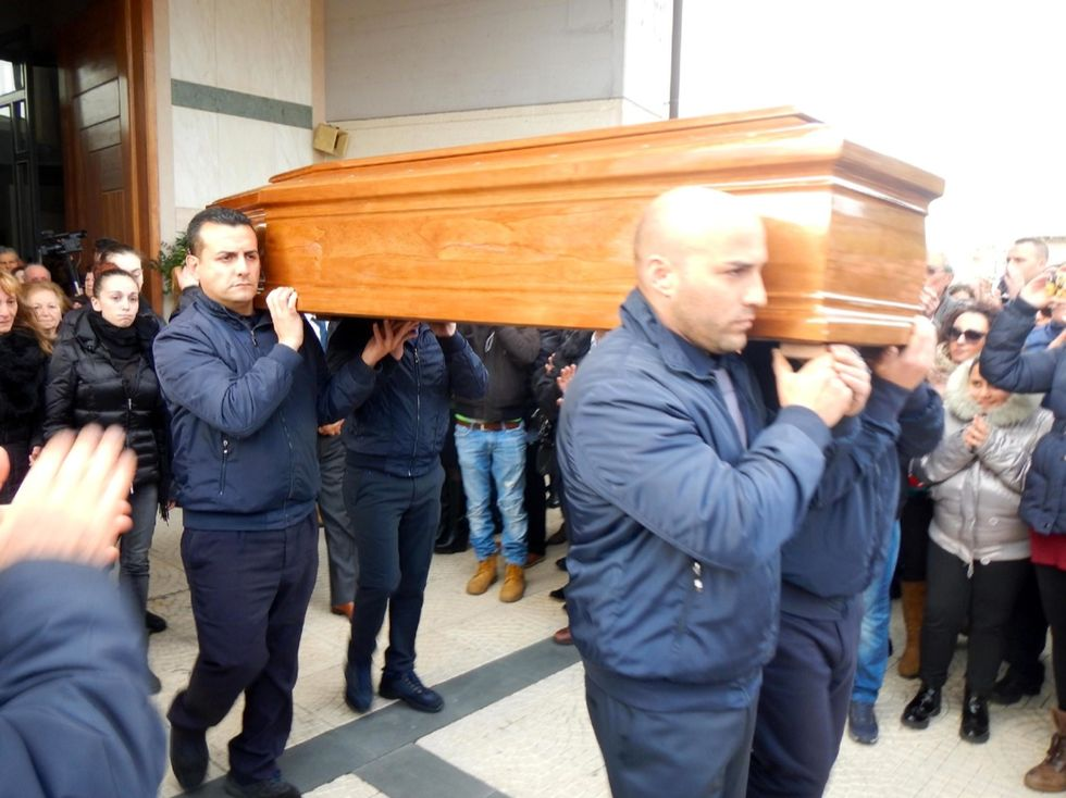 Fausto Piano e Salvatore Failla: i funerali - Foto
