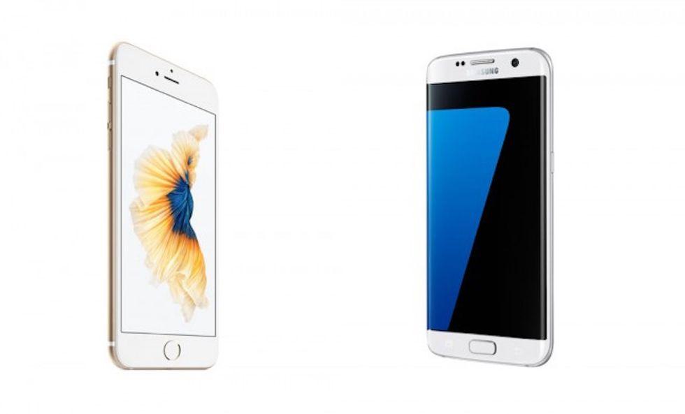 Galaxy S7 Edge vs iPhone 6S Plus: chi vince