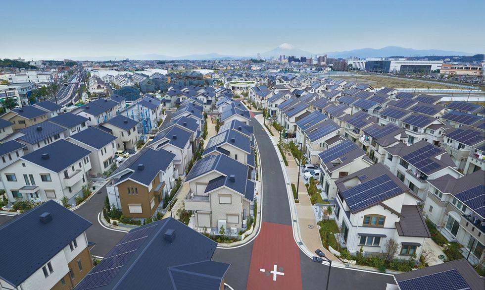 Benvenuti a Fujisawa, la prima città a impatto (quasi) zero