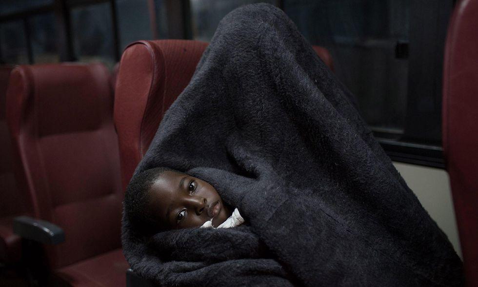 Migranti salvati in mare a Tripoli
