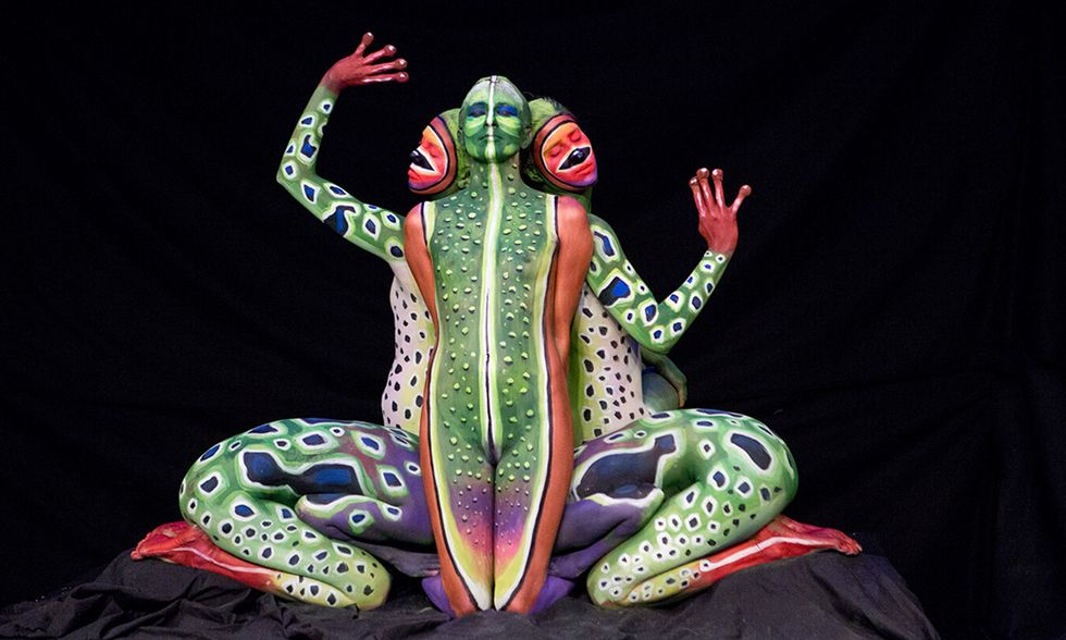 Body Painting a Madrid