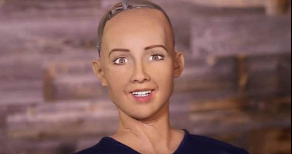 Sophia, il robot più umano mai realizzato