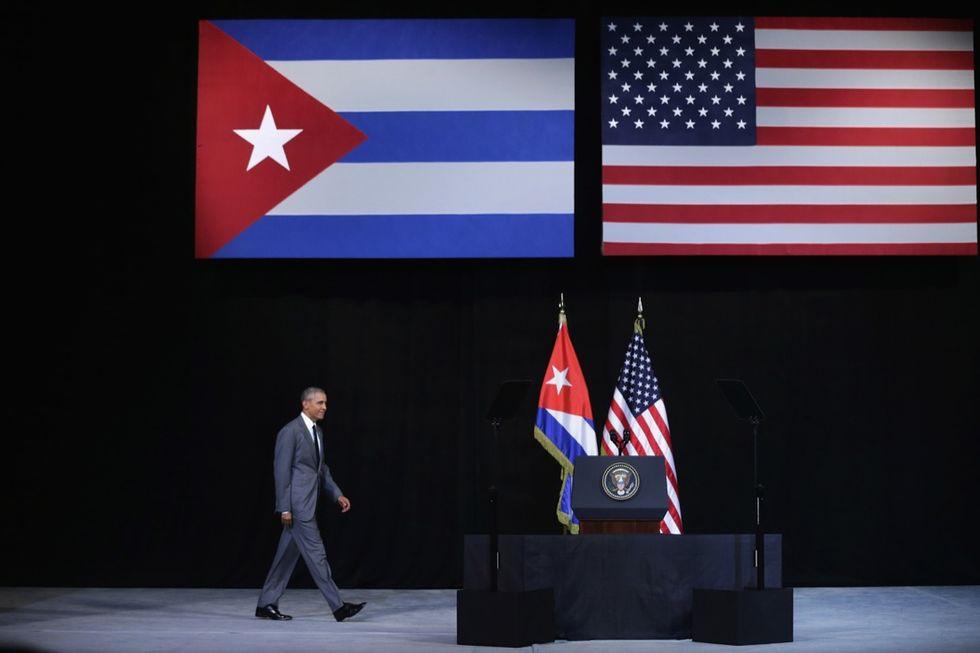 Obama a Cuba seppellisce la guerra fredda - Foto