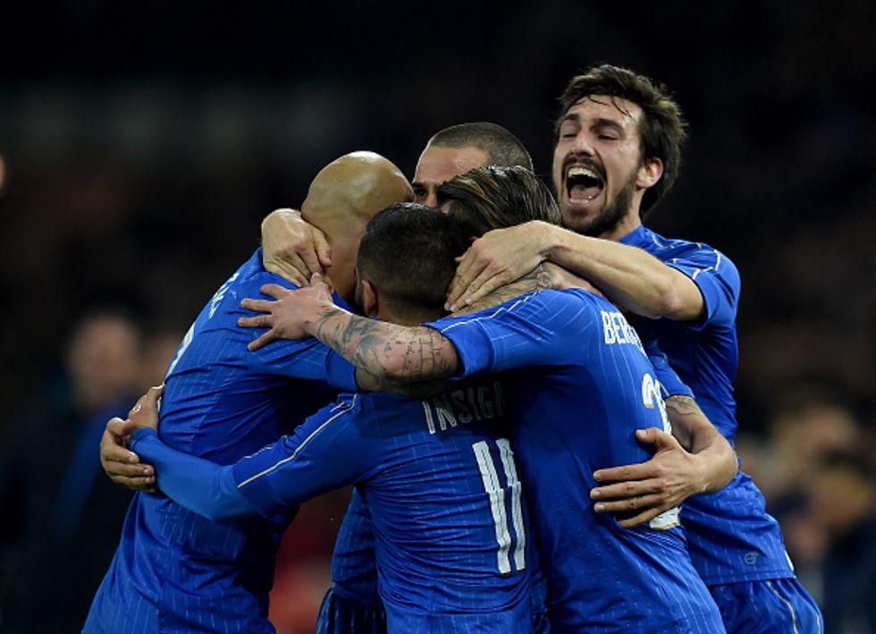 Euro 2016: tutti i numeri di maglia degli azzurri
