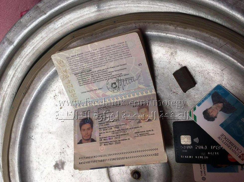 Egitto: trovati i documenti di Giulio Regeni, ma la verità?