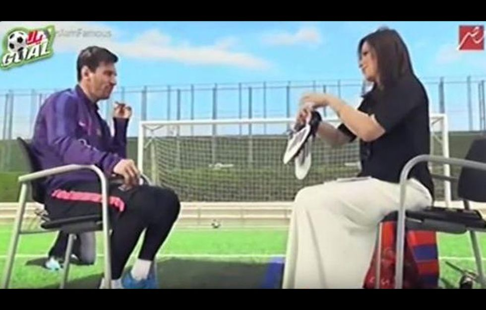Egitto: bufera su Messi, che mostra le suole degli scarpini in Tv