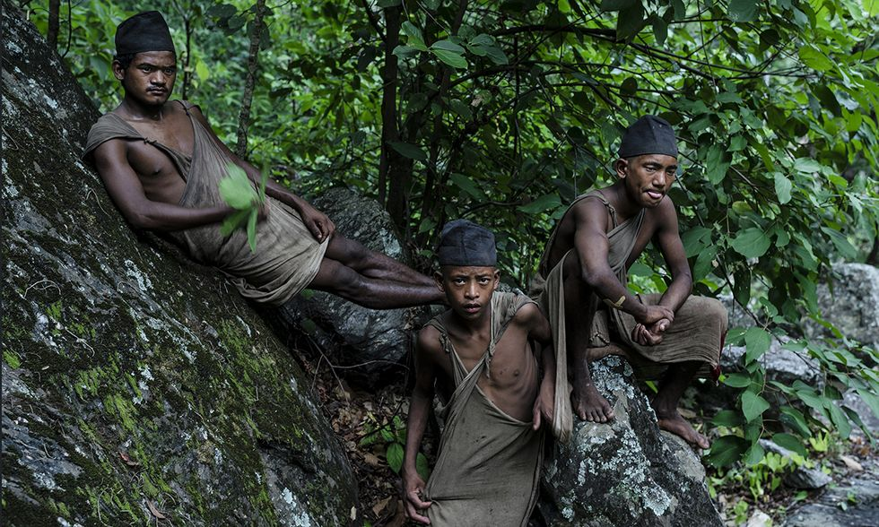 Nepal, il popolo Raute