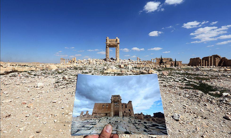 Palmira, Siria, prima e dopo l'ISIS