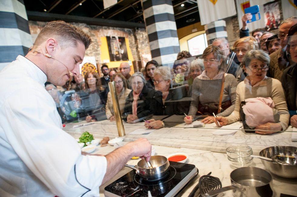 Corzetti liguri, la ricetta di Mattia Poggi per lo show cooking a Genova