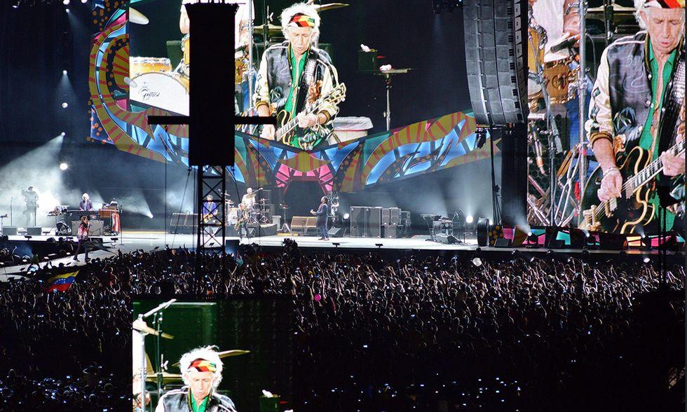 I Rolling Stones in concerto a Cuba