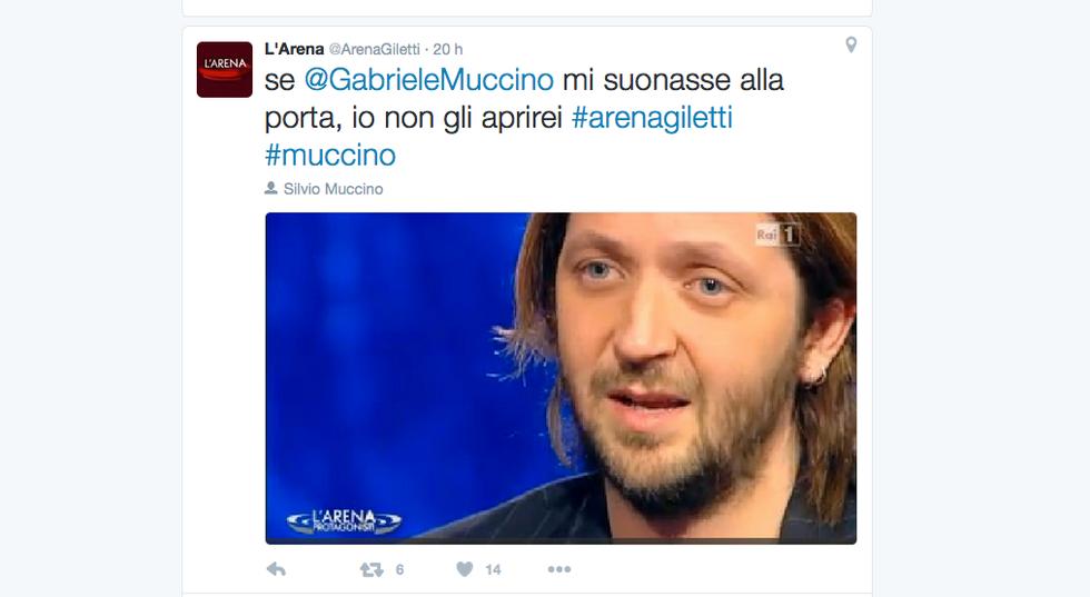 Silvio Muccino a L'Arena