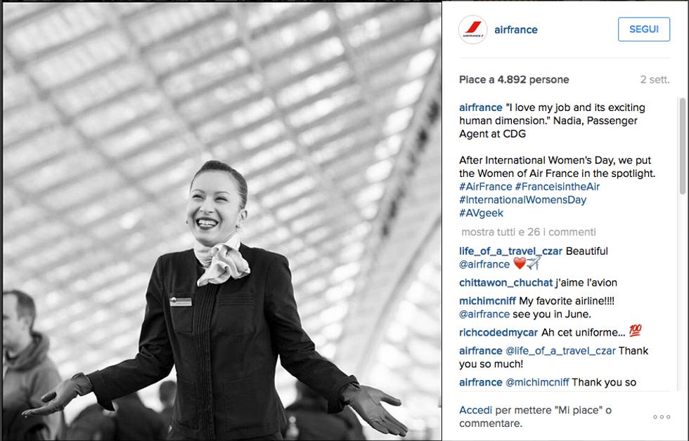 Hostess Air France