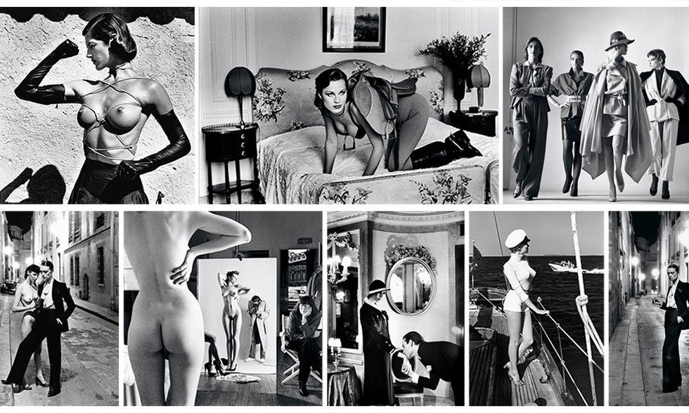 Helmut Newton, Sleepless Nights, White Women, Big Nudes