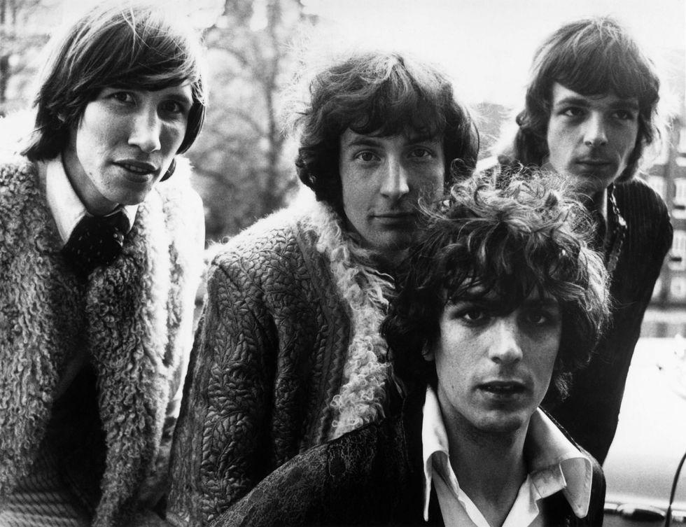 I Pink Floyd nel 1967, quando il leader era Syd Barrett