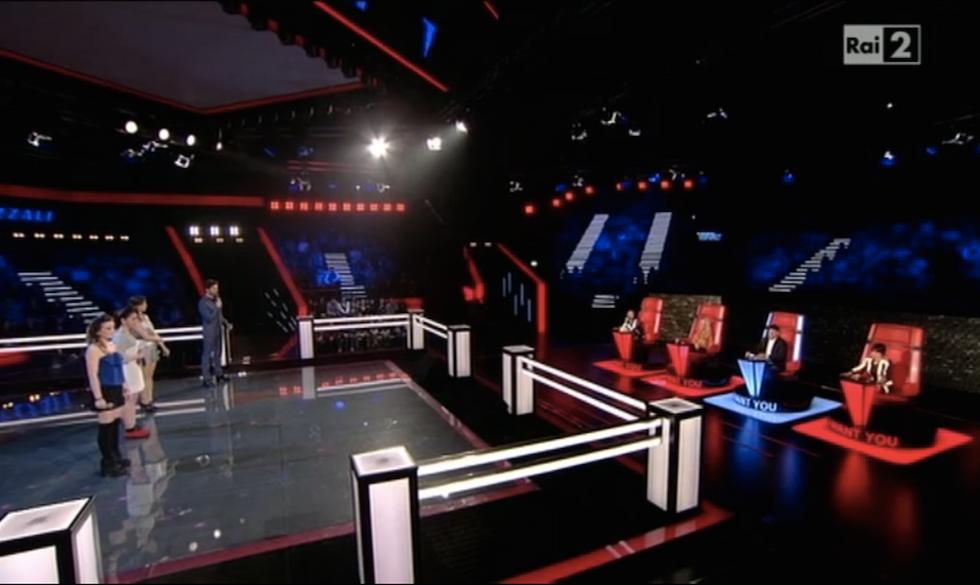Il ring delle Battle di The Voice 4