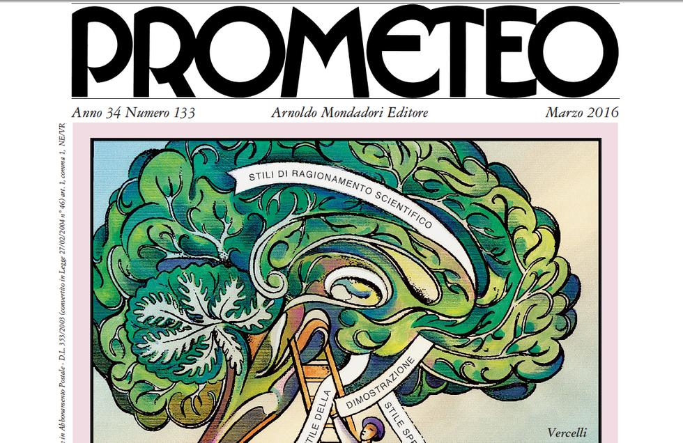 Prometeo: il nuovo numero in edicola